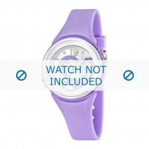 Calypso Uhrenarmband K5576-4 Kunststoff Lila