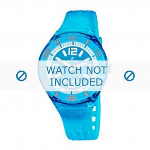 Calypso Uhrenarmband K5588/5  Kunststoff Türkis