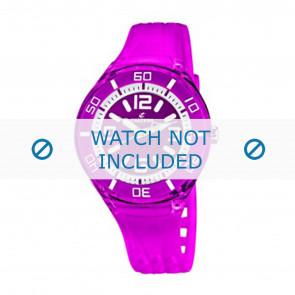 Calypso Uhrenarmband K5588/6  Kunststoff Lila