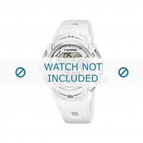 Calypso Uhrenarmband K5610.1 Kunststoff Weiss