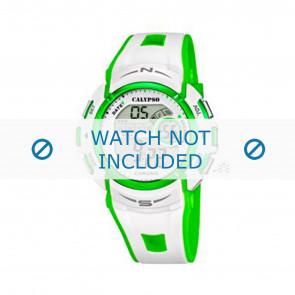 Calypso Uhrenarmband K5610.4 Kunststoff Weiss