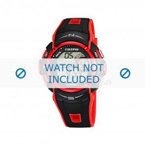 Calypso Uhrenarmband K5610.5 Kunststoff Rot