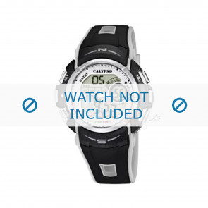 Calypso Uhrenarmband K5610.8 Kunststoff Schwarz