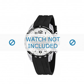 Uhrenarmband Candino C4472 Kautschuk Schwarz 22mm