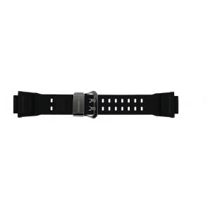 Casio Uhrenarmband GW-9400-1 / 10455201 Silikon Schwarz 19mm