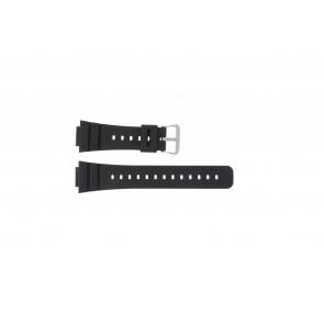 Casio Uhrenarmband DW-5000SL-1 / 10512401 / 5600E / 5600E-1 32 / G-5600 / G-5700 Silikon Schwarz 16mm