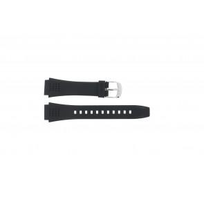 Uhrenarmband Casio EFA-124-1AVW / 10268556 Kunststoff Schwarz 20mm