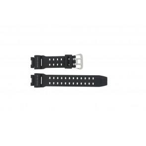 Uhrenarmband Casio G-9200-1 / GW-9200 / 10297191 Kunststoff Schwarz 16mm