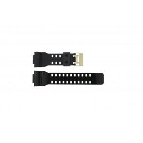 Casio Uhrenarmband A-110GB-1A Gummi Schwarz 16mm