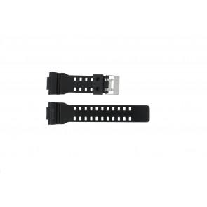 Casio Uhrenarmband GLS-8900-1W Gummi Schwarz 16mm