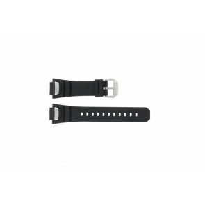 Casio Uhrenarmband GS-1000J-1A Silikon Schwarz 16mm