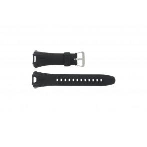 Casio Uhrenarmband GW-700A-W1 Gummi Schwarz 29mm