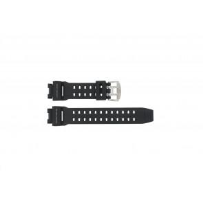 Casio Uhrenarmband GW-9110-1D Gummi Schwarz 16mm