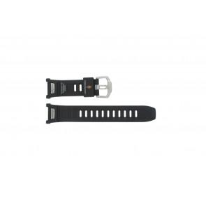 Casio Uhrenarmband PAW-1500-1VV Gummi Schwarz 16mm