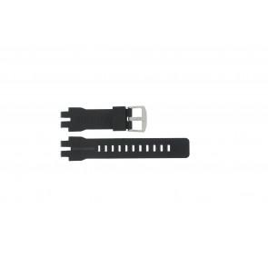 Casio Uhrenarmband PRW-6000 Gummi Schwarz 16mm