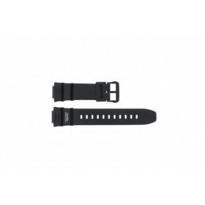 Casio Uhrenarmband WV-200E-1AVEF Gummi Schwarz 16mm