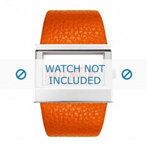 Dolce & Gabbana Uhrenarmband 3719240404 Leder Orange
