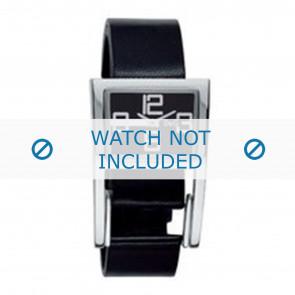 Dolce & Gabbana Uhrenarmband 3719251215 Leder Schwarz
