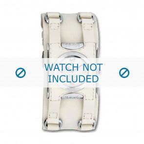 Dolce & Gabbana Uhrenarmband DW0100 Leder Cremeweiß / Beige