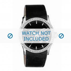 Dolce & Gabbana Uhrenarmband DW0267 Leder Schwarz