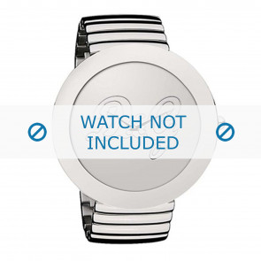 Dolce & Gabbana Uhrenarmband DW0280 Metall Silber