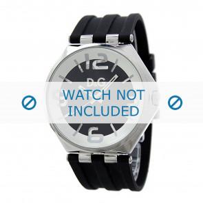 Dolce & Gabbana Uhrenarmband DW0582 Kunststoff Schwarz