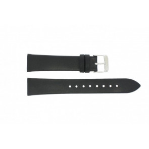 Danish Design Uhrenarmband IV13Q900 Leder Schwarz 20mm
