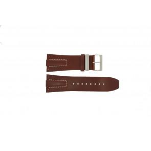 Davis Uhrenarmband BB0580 / BB0581 / BB0582 Leder Braun 30mm