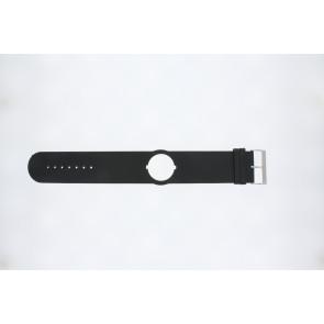 Jacques Lemans Uhrenarmband DC500 Leder Schwarz