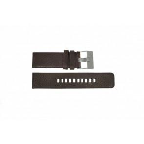 Uhrenarmband Diesel DZ1467 Leder Braun 24mm