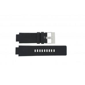 Uhrenarmband Diesel DZ1089 / DZ1186 / DZ1091 / Leder Schwarz 18mm