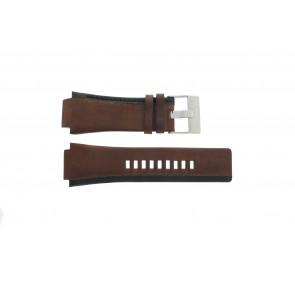 Diesel Uhrenarmband DZ-1092 Leder Braun 22mm