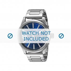 Diesel Uhrenarmband DZ1763 Metall Silber 24mm