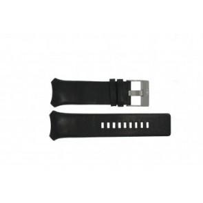 Diesel Uhrenarmband DZ-3034 / DZ-3035 Leder Schwarz 31mm