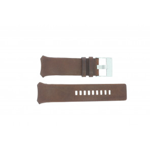 Diesel Uhrenarmband DZ3037 Leder Braun 32mm