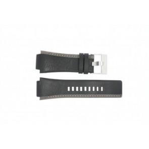 Diesel Uhrenarmband DZ-4083 Leder Schwarz 22mm
