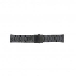 Diesel Uhrenarmband DZ4318 / DZ4283 / DZ4316 / DZ4355 / DZ4309 Metall Schwarz 26mm