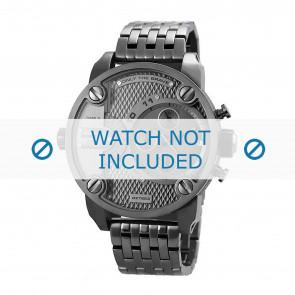 Diesel Uhrenarmband DZ7263 Metall Anthrazitgrau 24mm