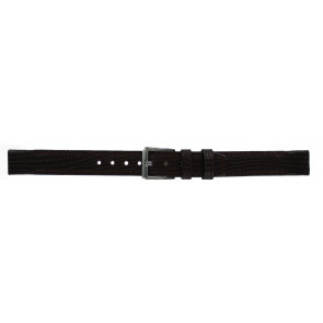 DKNY Uhrenarmband NY-3435 Leder Braun 14mm