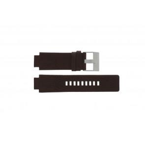 Diesel Uhrenarmband DZ1123 / DZ1090  Leder Braun 18mm