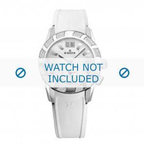 Edox Uhrenarmband 62005 Silikon Weiss