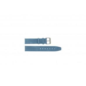 Echtes Leder Uhrenarmband blau 26mm G-33