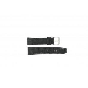Festina Uhrenarmband F16573/1 Leder Schwarz 23mm + weisßen Nähten