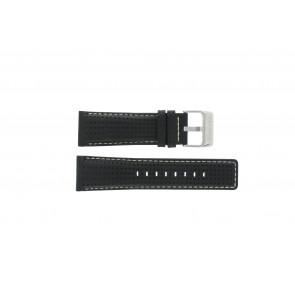 Festina Uhrenarmband F16363 Leder Schwarz 26mm