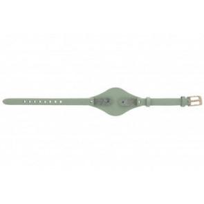Fossil Uhrenarmband ES-3467 Leder Grün 8mm