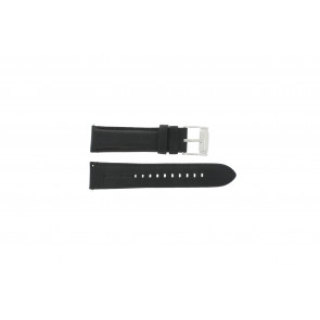 Fossil Uhrenarmband FS-4745 Leder Schwarz 22mm