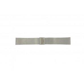 Davis Uhrenarmband BB0810 Stahl Silber 22mm