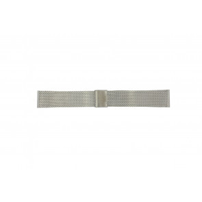 Davis Uhrenarmband BB0810 Stahl Silber 24mm
