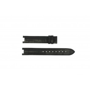 Guess Uhrenarmband GC24001L2 / GC15000 Leder Schwarz 16mm
