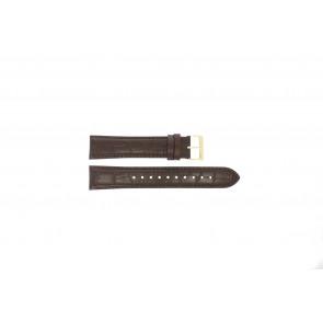 Uhrenarmband Hugo Boss HB-334-1-34-3114 / HB1513640 / HB659302886 Leder Braun 20mm
